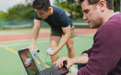How you digitize your tennis club – Step 1 – Website